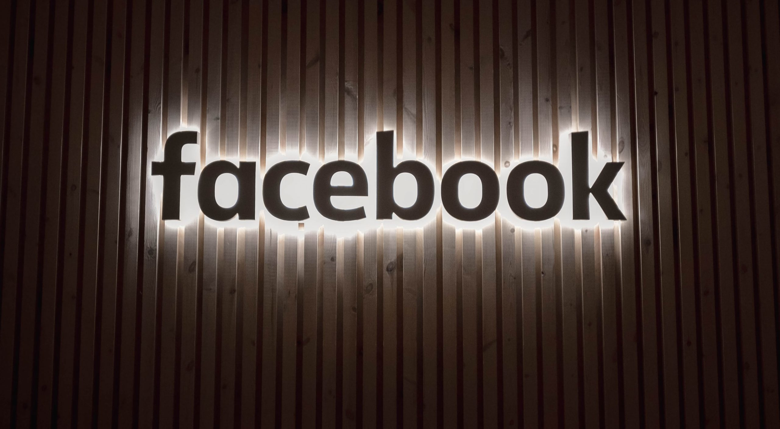 Image of Facebook sign
