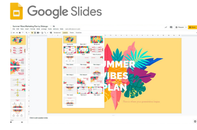 Learn about Google Slides
